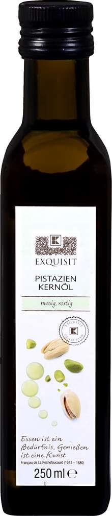 Abbildung des Sortimentsartikels Exquisit Pistazien-Kernöl nussig röstig 250ml