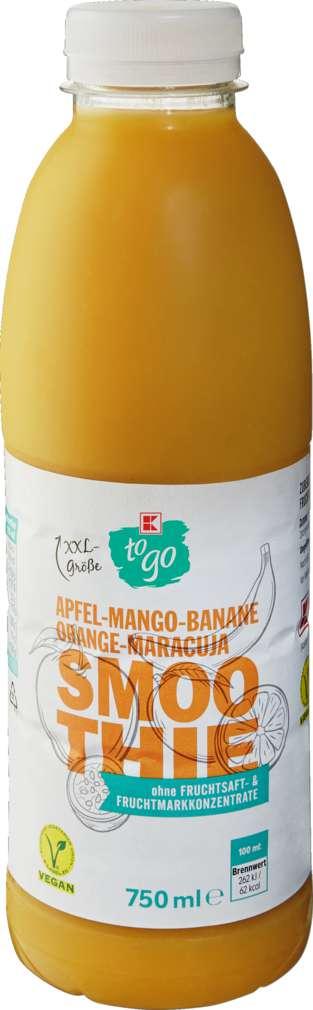 Abbildung des Sortimentsartikels K-To Go XXL Smoothie Mango-Maracuja 750ml