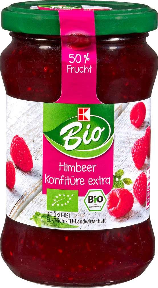 Abbildung des Sortimentsartikels K-Bio Himbeer Konfitüre Extra 340g