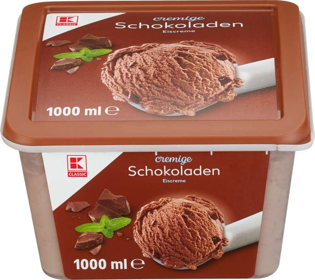 Abbildung des Sortimentsartikels K-Classic Eis Schokolade 1000ml