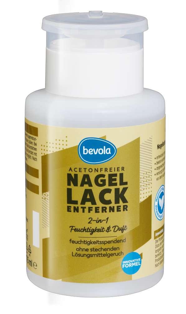 Abbildung des Sortimentsartikels Bevola Nagellackentferner Innovativ 175ml