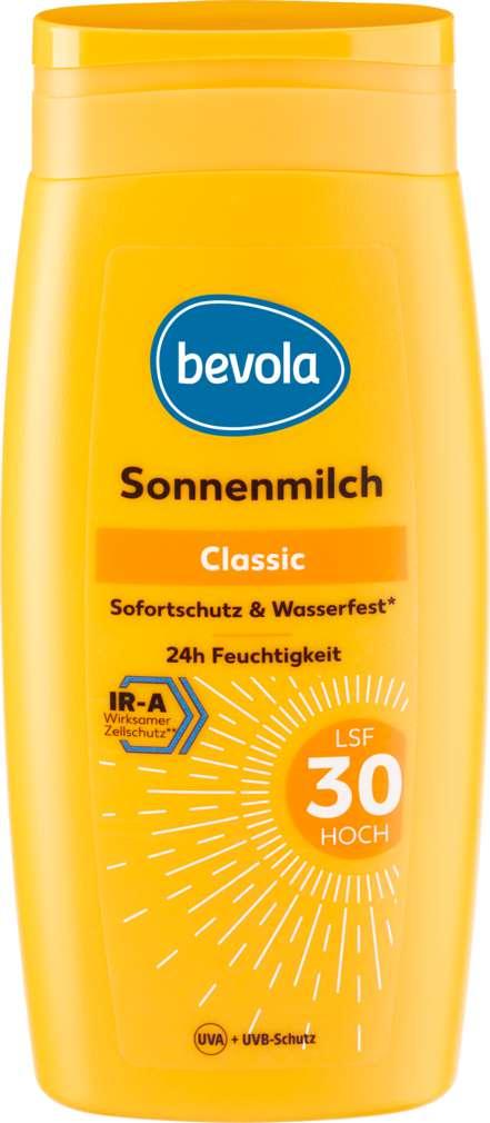 Abbildung des Sortimentsartikels Bevola Sonnenschutz Milch LSF30 250ml