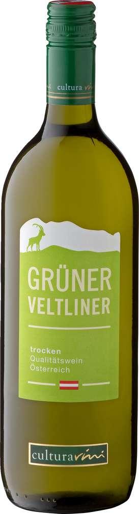 Abbildung des Sortimentsartikels Cultura Vini Grüner Veltliner 1,0l