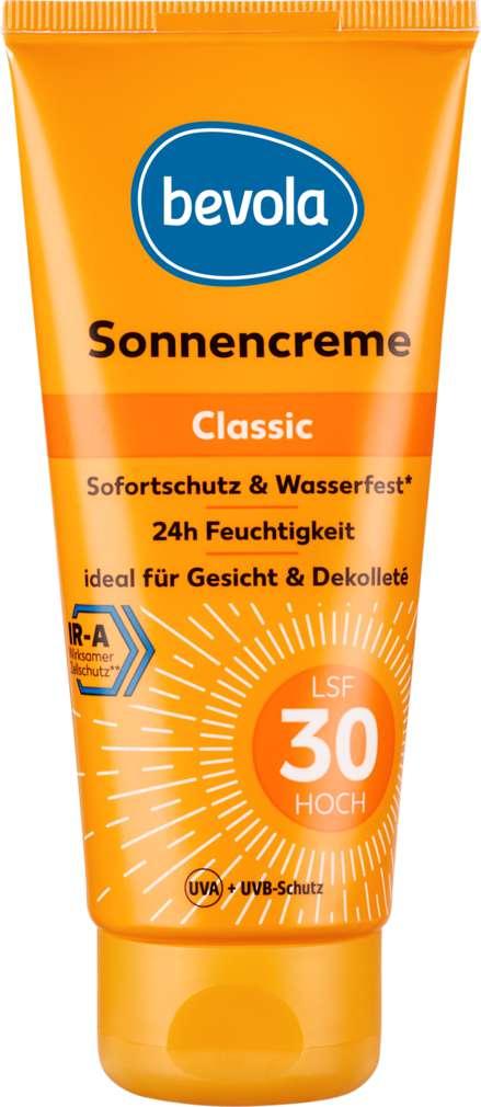 Abbildung des Sortimentsartikels Bevola Bevola Sonnenschutz Creme LSF30 100ml