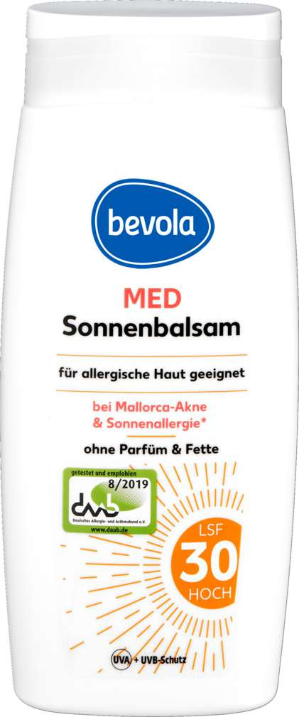 Abbildung des Sortimentsartikels Bevola Sonnenmilch Med Ultra Sensitive 250ml