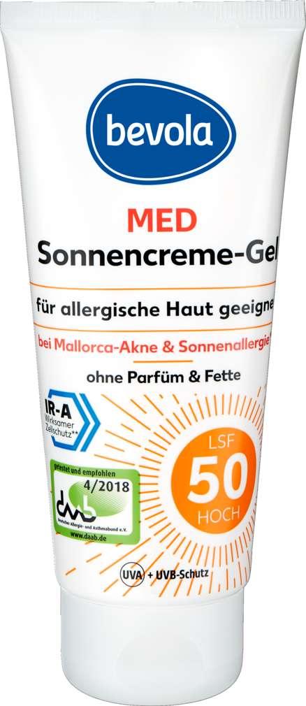 Abbildung des Sortimentsartikels Bevola Bevola Sonnenschutz Creme LSF50 250ml