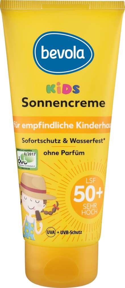 Abbildung des Sortimentsartikels Bevola Bevola Sonnenschutz Creme Kids LSF50 100ml