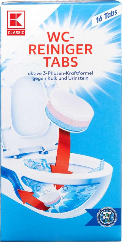 Abbildung des Sortimentsartikels K-Classic WC Reinigungs Tabs 16x25g