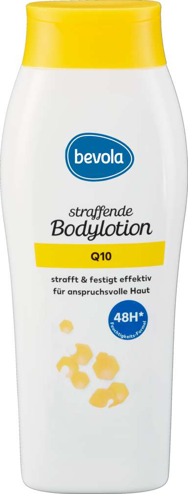 Abbildung des Sortimentsartikels Bevola straffende Bodylotion Q10 400 ml