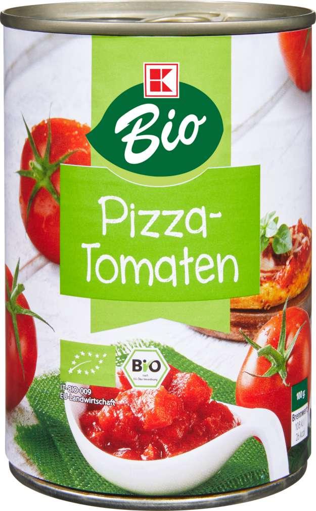 Abbildung des Sortimentsartikels K-Bio Pizzatomaten 425ml