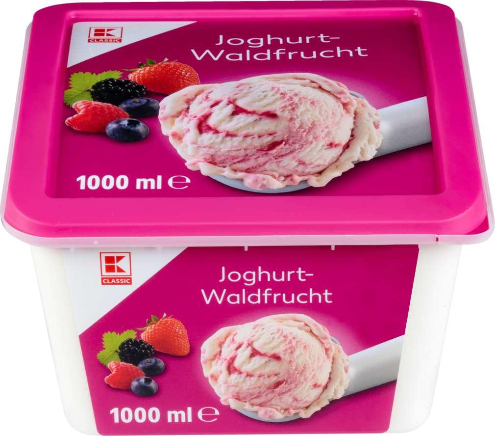 Abbildung des Sortimentsartikels K-Classic Eis Joghurt-Waldfrucht 1000ml