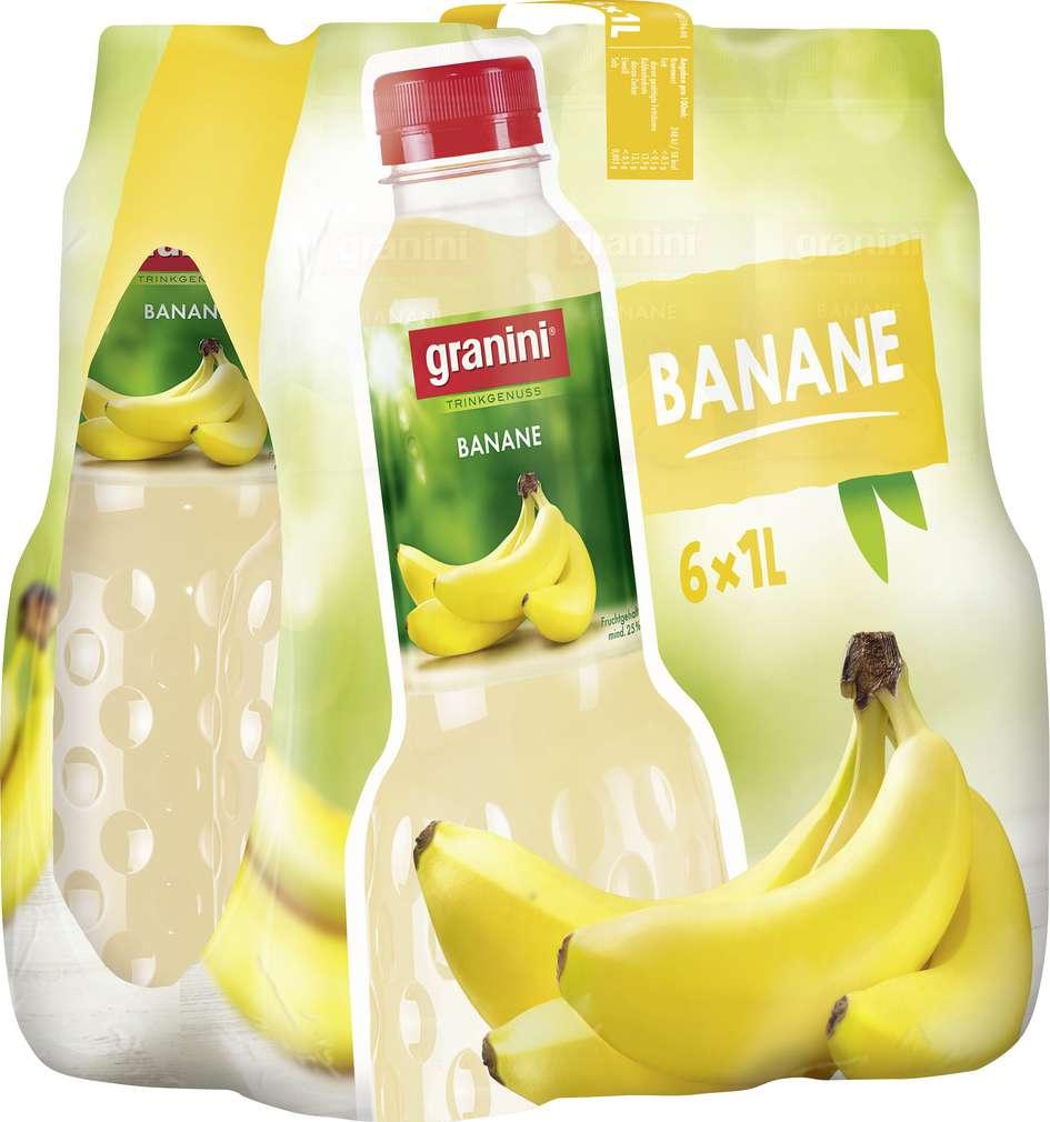 Abbildung des Sortimentsartikels Granini Bananen-Nektar 6x1l