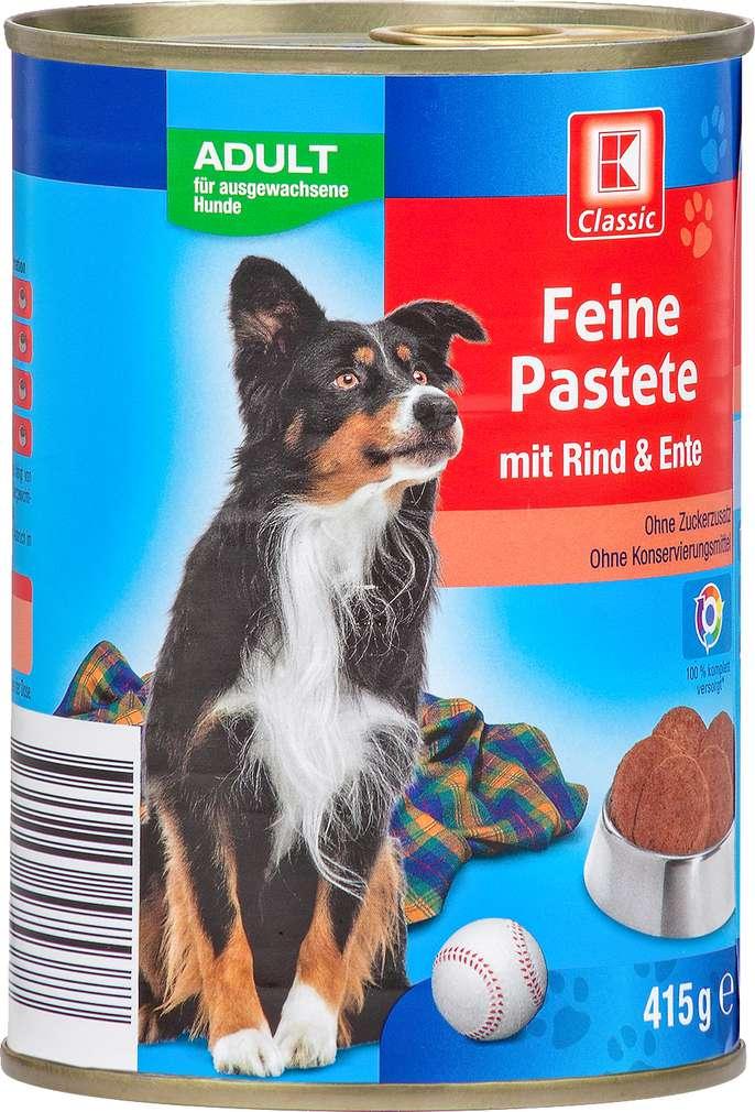 Abbildung des Sortimentsartikels K-Classic Feine Pastete mit Rind & Ente 415g
