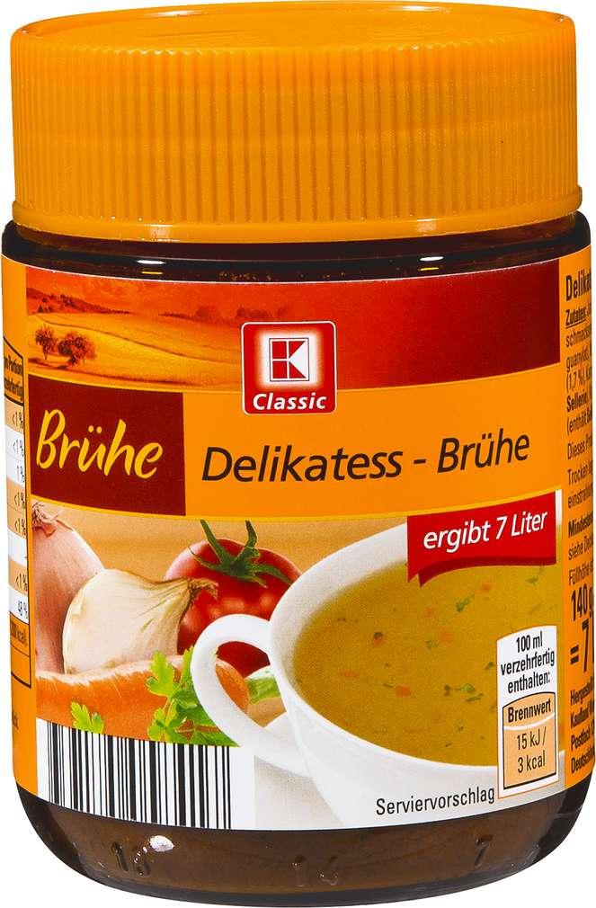 Abbildung des Sortimentsartikels K-Classic Delikatess-Brühe 140g