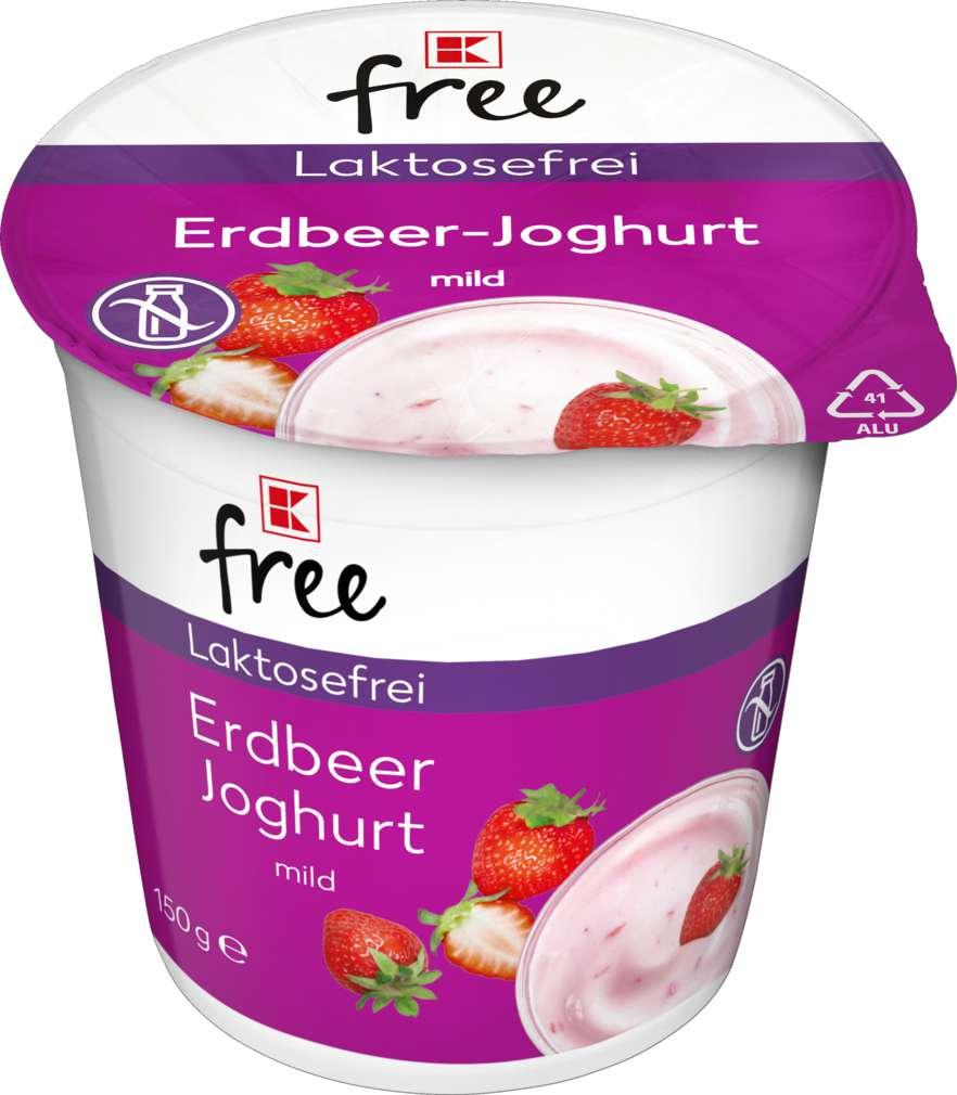 Abbildung des Sortimentsartikels K-free laktosefrei Erdbeer Joghurt mild 150g