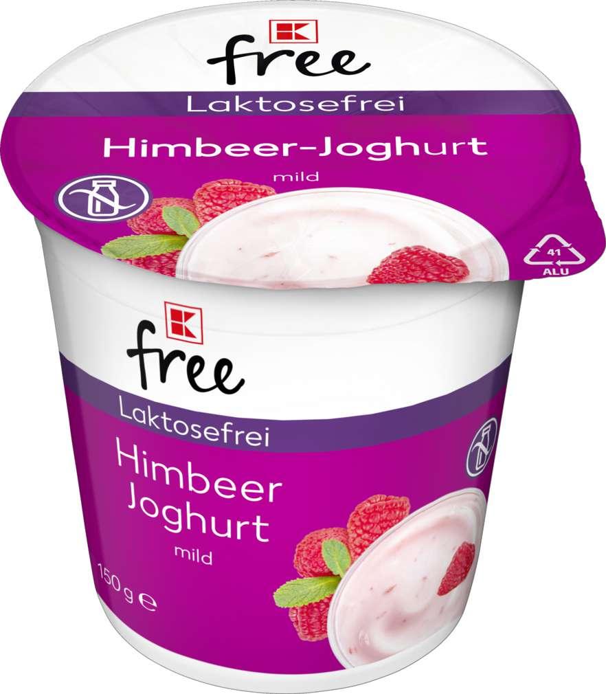 Abbildung des Sortimentsartikels K-Free Laktosefrei Himbeer Joghurt mild 150g