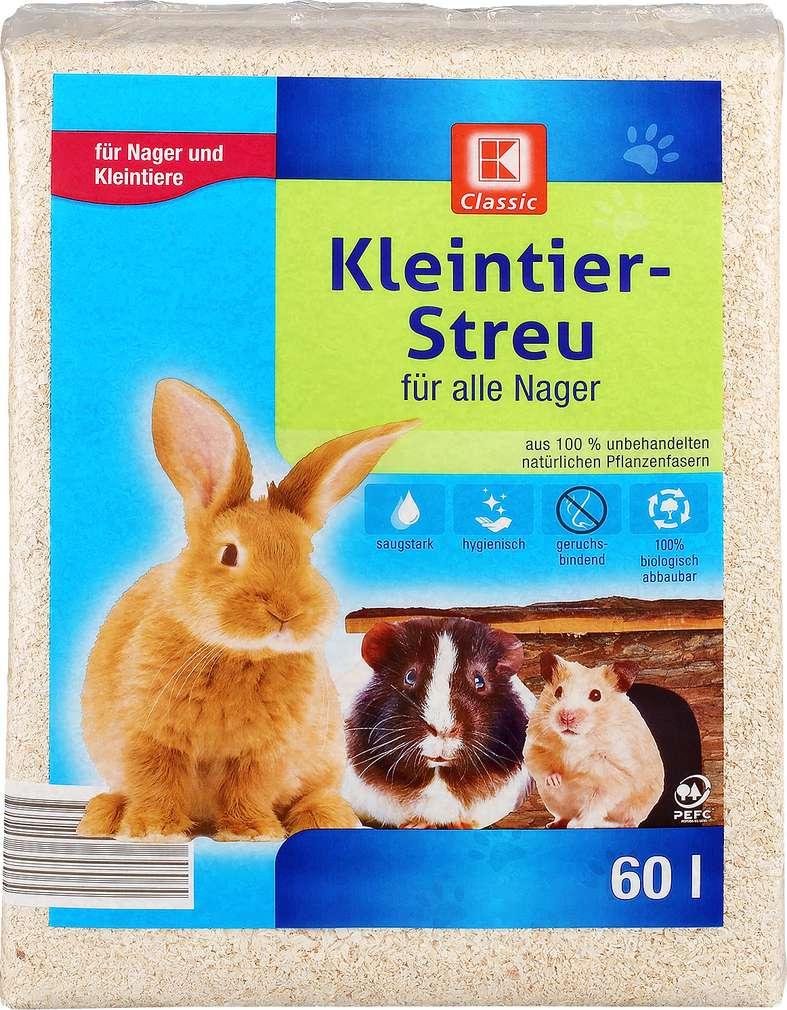 Abbildung des Sortimentsartikels K-Classic Kleintier-Streu 60l