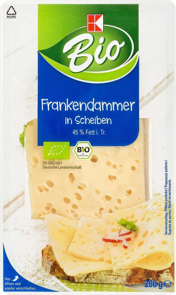 Abbildung des Sortimentsartikels K-Bio Frankendammer in Scheiben 200g