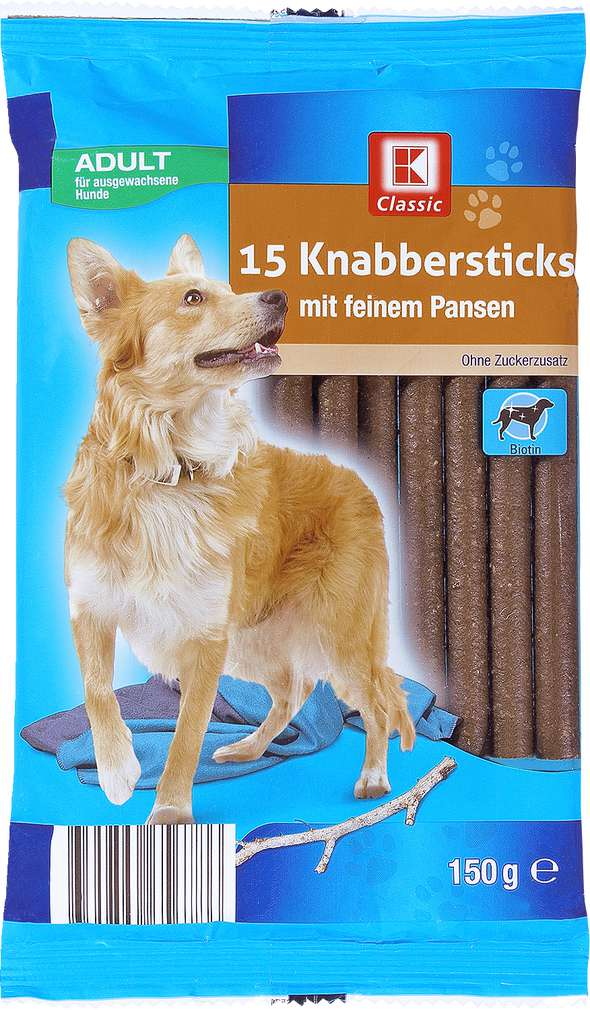 Abbildung des Sortimentsartikels K-Classic Knabbersticks 15x10g