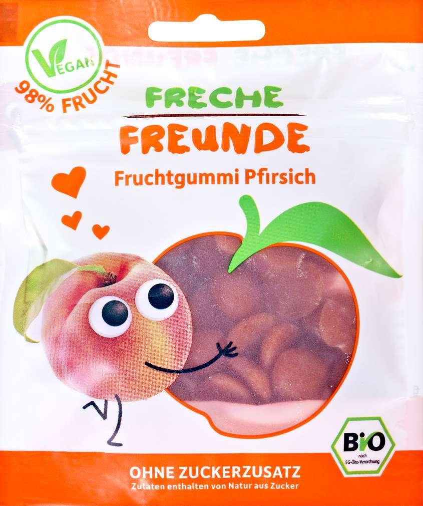 Abbildung des Sortimentsartikels Hipp Freche Freunde Bio Fruchtgummi Pfirsich 30g