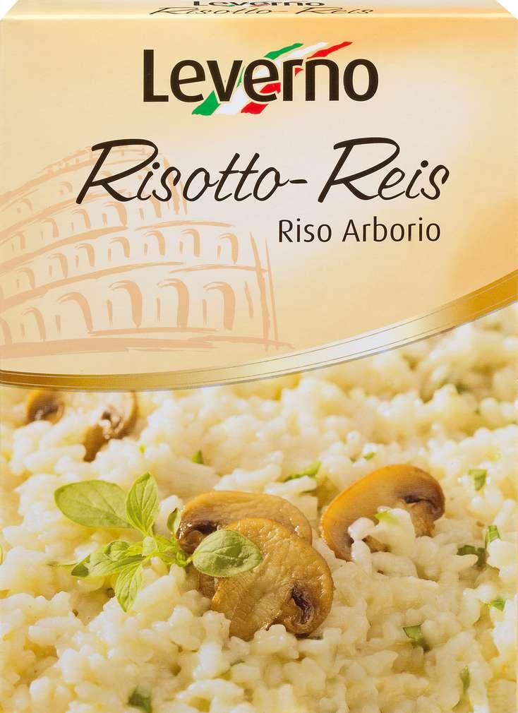 Abbildung des Sortimentsartikels Leverno Risotto-Reis 250g