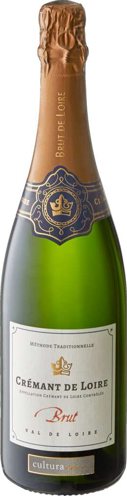 Abbildung des Sortimentsartikels Cultura Vini Crémant de Loire Brut 0,75l Flasche
