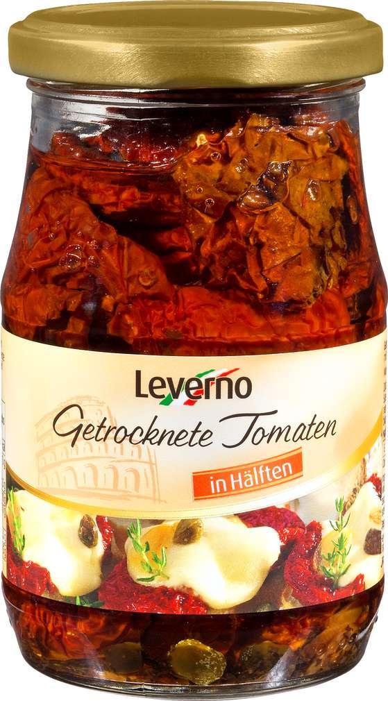 Abbildung des Sortimentsartikels Leverno Getrocknete Tomaten in Öl 314ml