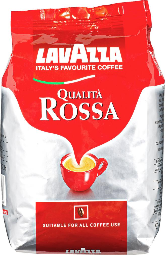 Abbildung des Sortimentsartikels Lavazza Qualità Rossa ganze Bohnen 1000g