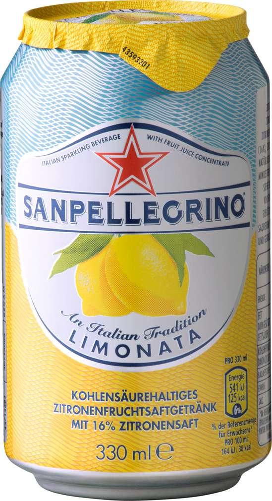 Abbildung des Sortimentsartikels Sanpellegrino Limonata 0,33l
