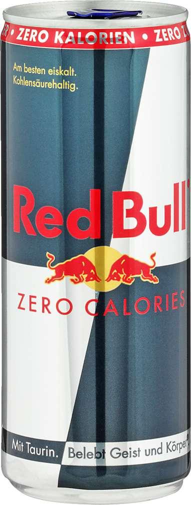 Abbildung des Sortimentsartikels Red Bull Energy Drink Zero 0,25l