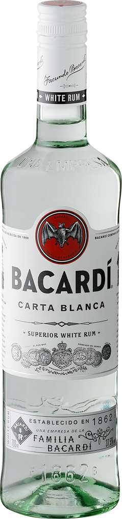 Abbildung des Sortimentsartikels Bacardi Rum Carta Blanca 0,7l
