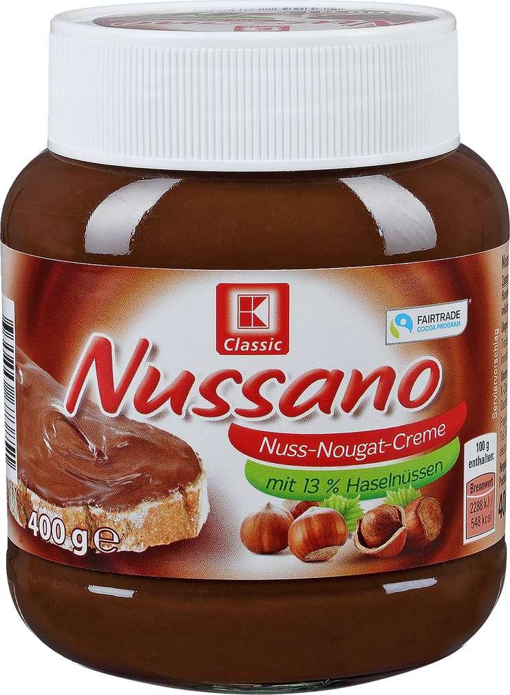 Abbildung des Sortimentsartikels K-Classic Nussano 400g