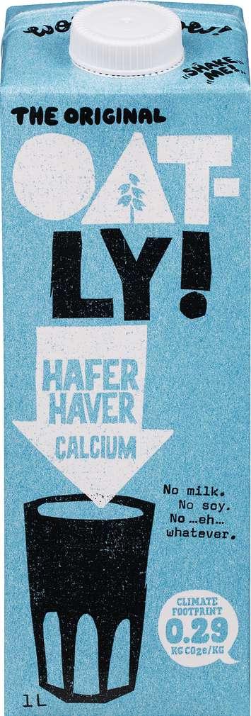 Abbildung des Sortimentsartikels Oatly Hafer Calcium lf 1,0l