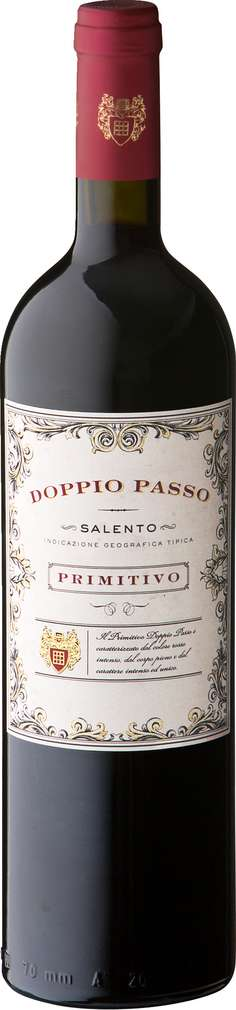 Abbildung des Sortimentsartikels Doppio Passo Primitivo 0,75l