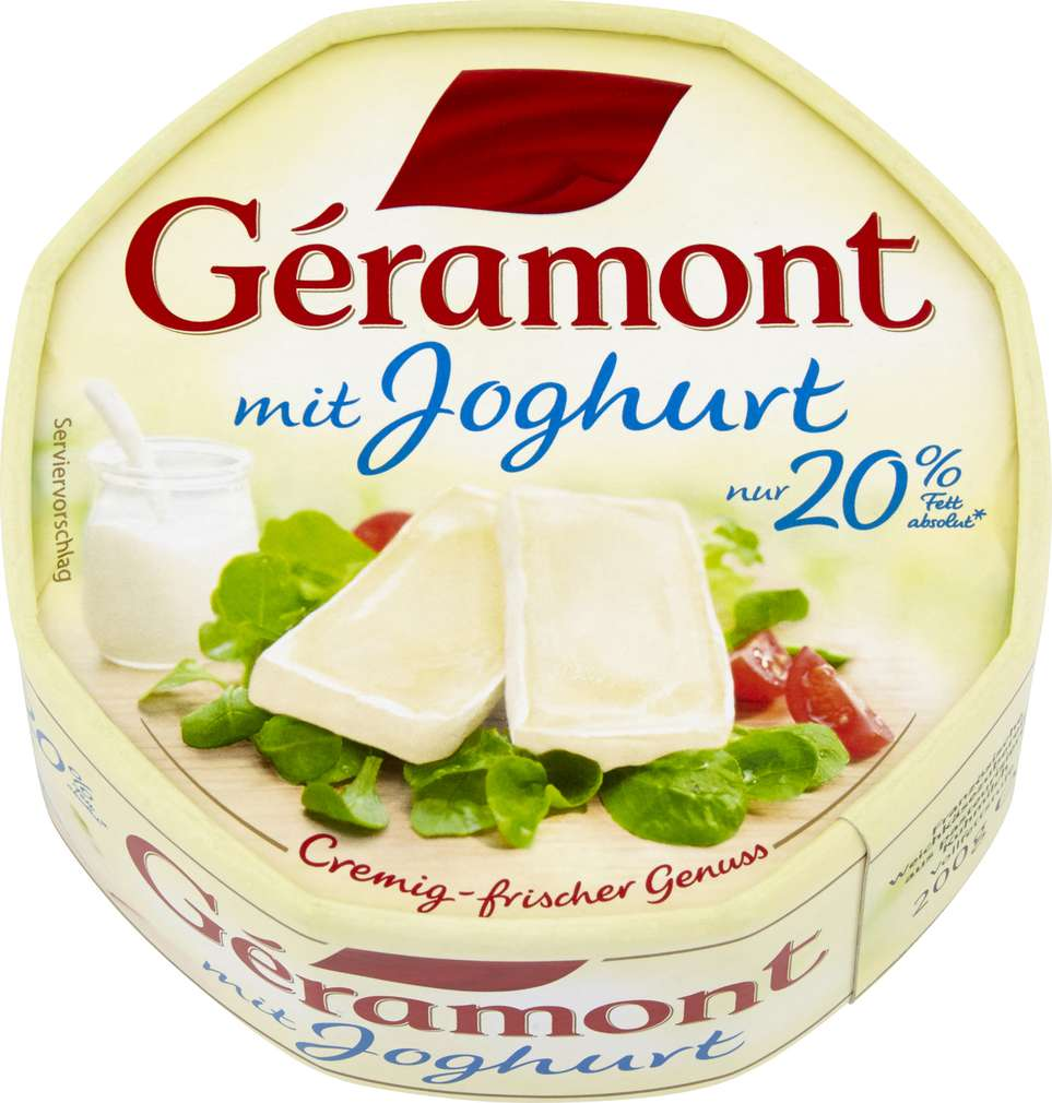 Abbildung des Sortimentsartikels Géramont Mit Joghurt 200g
