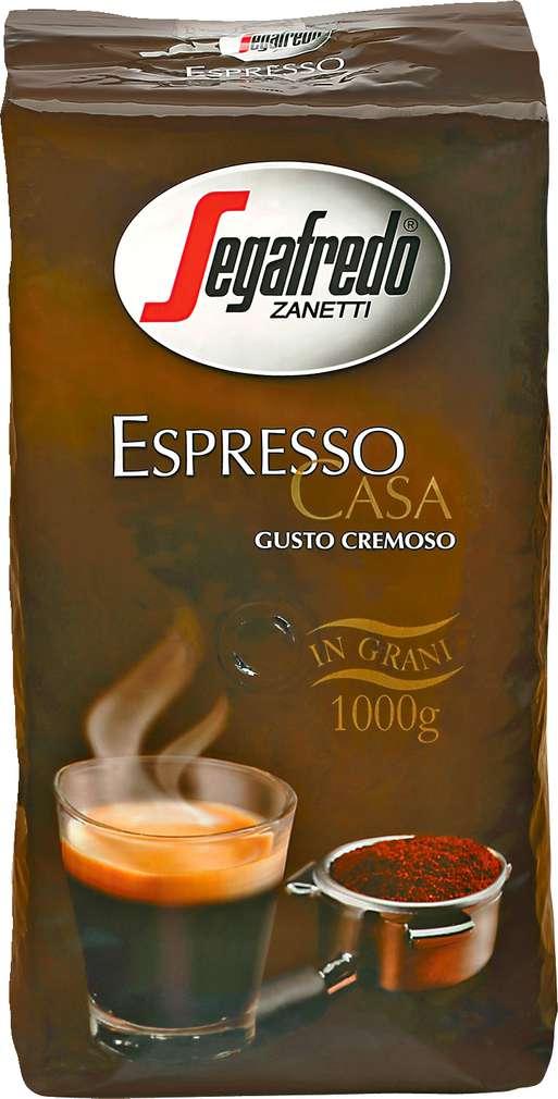 Abbildung des Sortimentsartikels Segafredo Zanetti Espresso Casa Gusto Cremoso 1kg