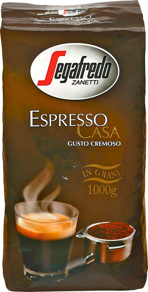 Abbildung des Sortimentsartikels  Espresso Casa Gusto Cremoso 1kg