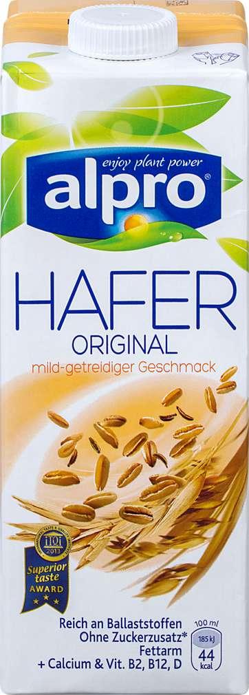 Abbildung des Sortimentsartikels Alpro Hafer Original 1l