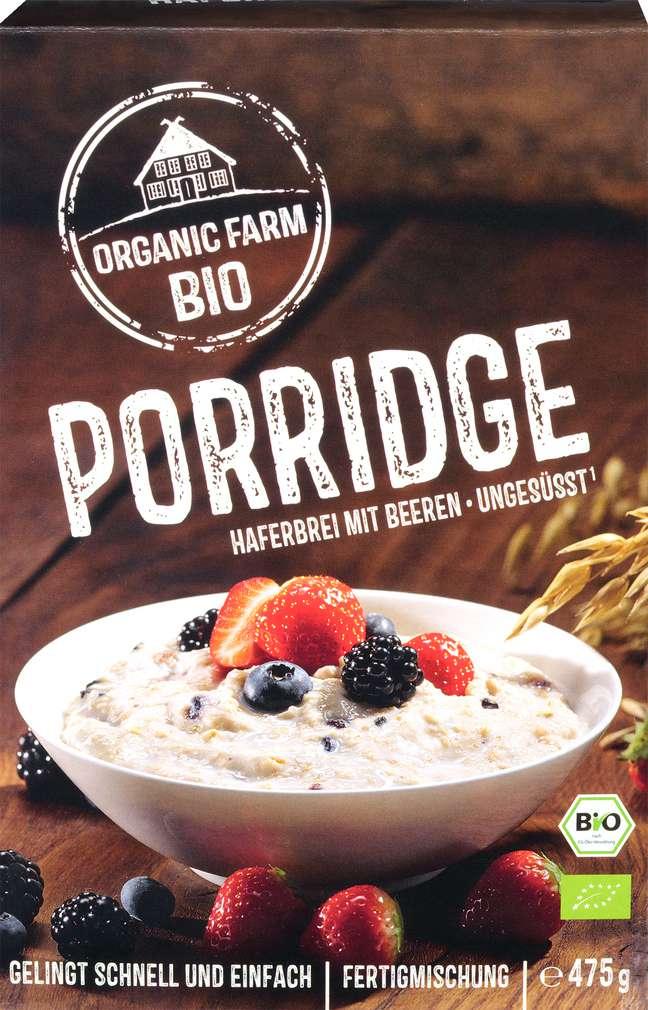 Abbildung des Sortimentsartikels Organic Farm Bio Porrige Beeren 475g