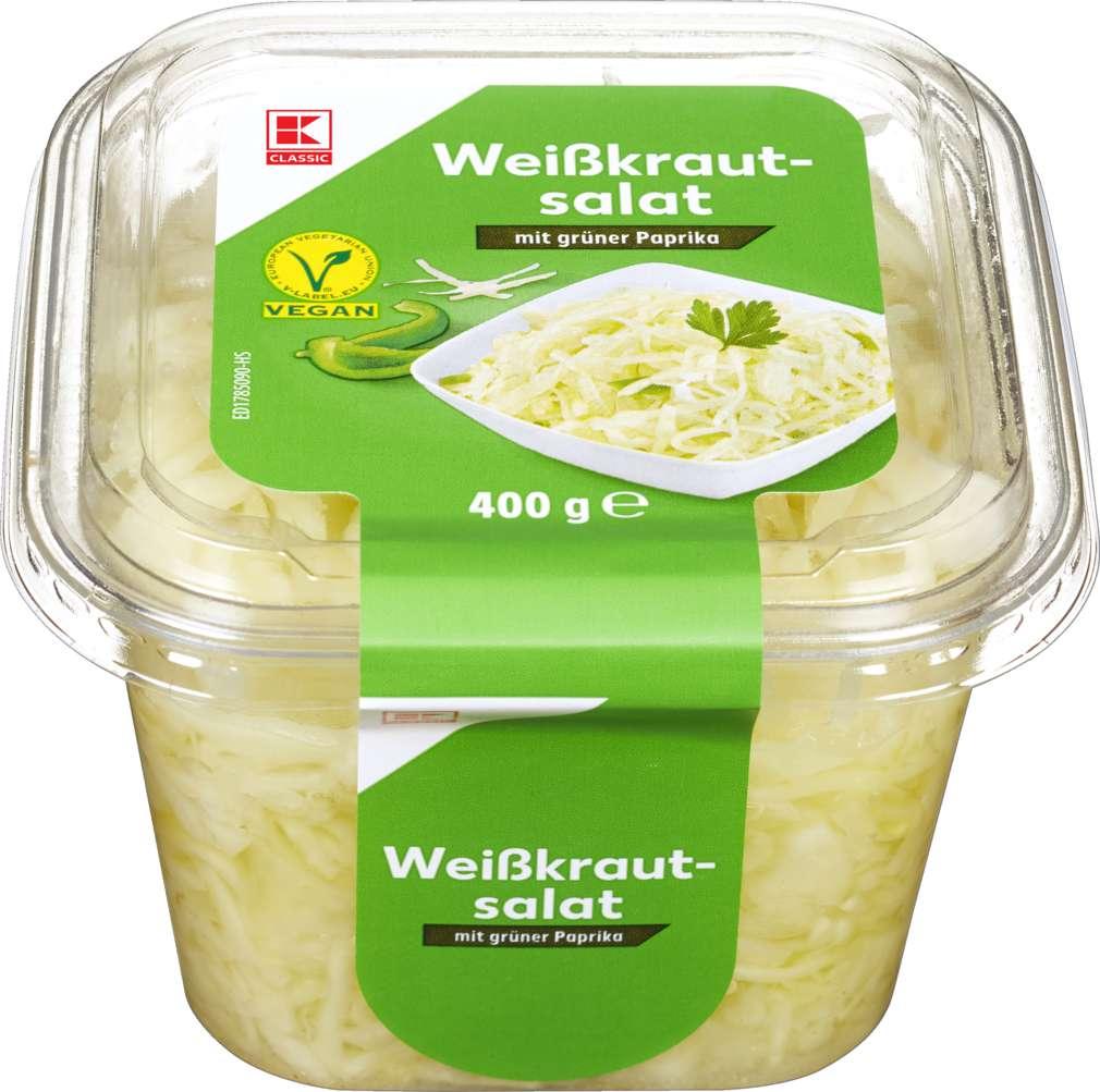Abbildung des Sortimentsartikels K-Classic Weißkrautsalat 400g