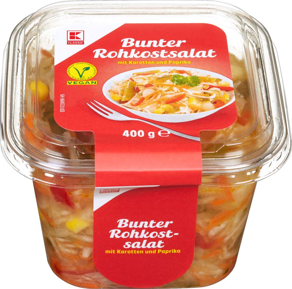 Abbildung des Sortimentsartikels K-Classic Bunter Rohkostsalat 400g