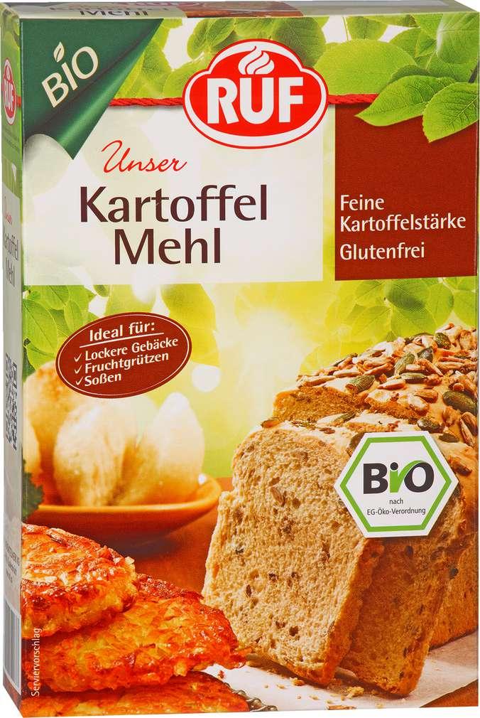 Abbildung des Sortimentsartikels Ruf Bio Kartoffelmehl 500g