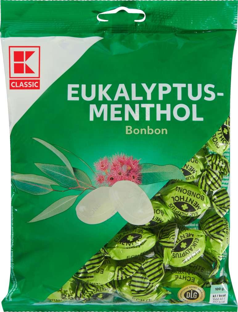 Abbildung des Sortimentsartikels K-Classic Euka-Menthol - Bonbons 250g