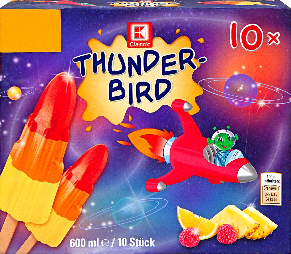 Abbildung des Sortimentsartikels K-Classic Thunderbird Wassereis 10x60ml