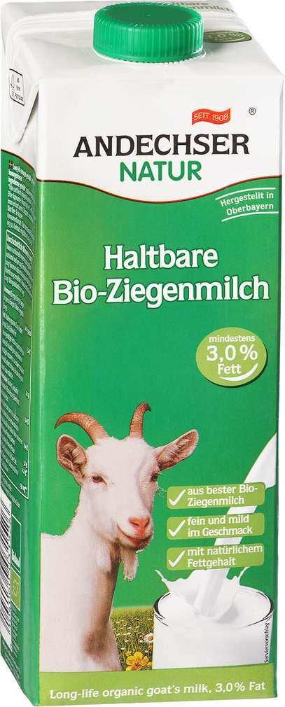 Abbildung des Sortimentsartikels Andechser Natur Haltbare Bio-Ziegenmilch 3,0% 1l