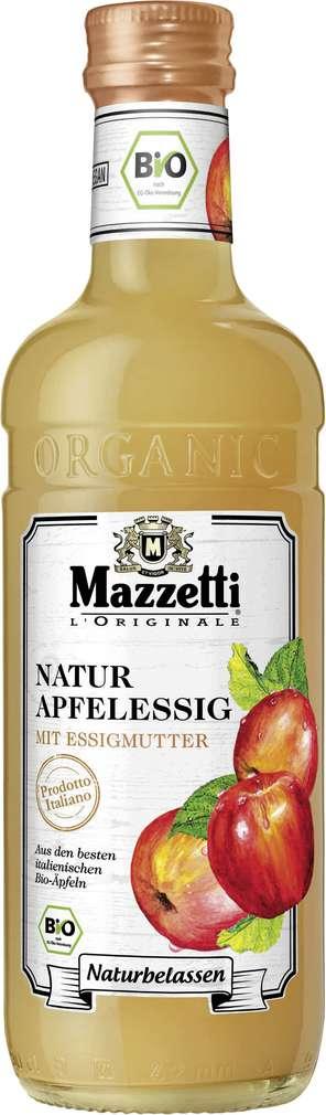 Abbildung des Sortimentsartikels Mazzetti Bio-Apfelessig mit Essigmutter 0,5l