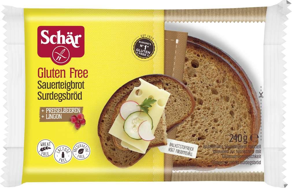 Abbildung des Sortimentsartikels Schär Sauerteigbrot glutenfrei 240g