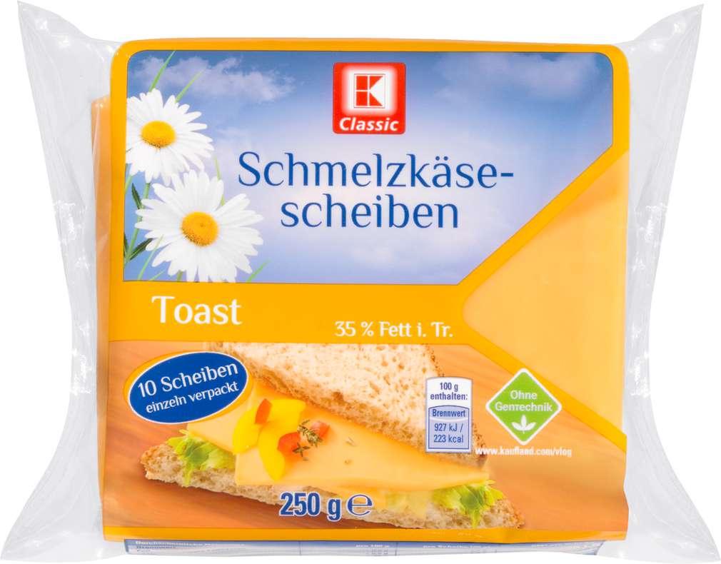 Abbildung des Sortimentsartikels K-Classic Schmelzkäsescheiben Toast 250g