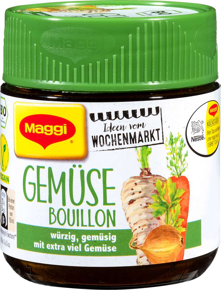 Abbildung des Sortimentsartikels Maggi Gemüse Bouillon Bio 110g