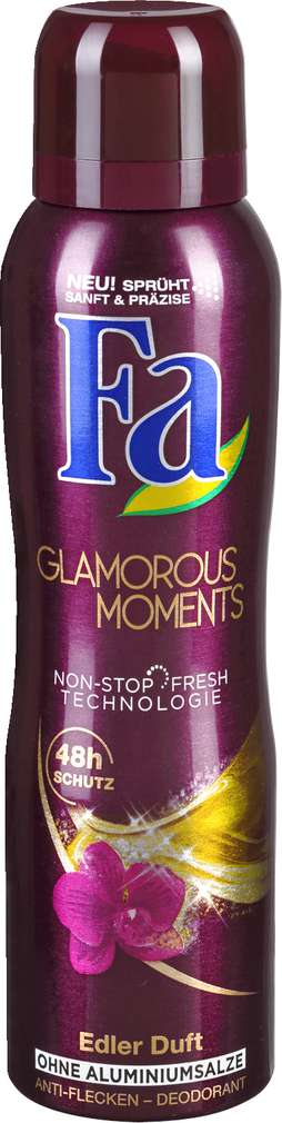 Abbildung des Sortimentsartikels Fa Deo-Spray Glamorous Moments 150ml